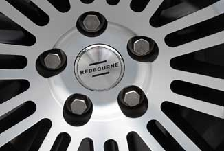 Our wheels accept Land Rover factory lugs