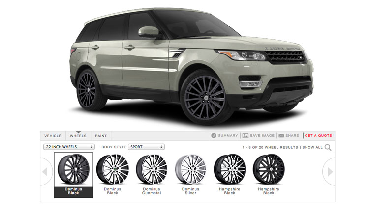 Discovery Sport 22 Wheels >> Range Rover Wheels | Range Rover Rims by Redbourne
